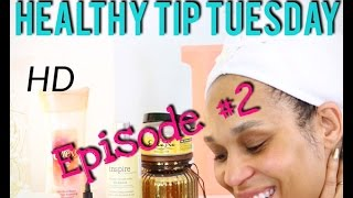 Drying Natural Hair without Heat | Healthy Tip Tuesday Ep #2 | Tia Kirby