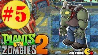 getlinkyoutube.com-Plants vs. Zombies 2: Far Future (1080p) - Day 20 - 22 Walkthrough