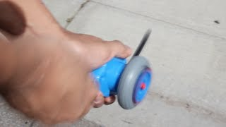 getlinkyoutube.com-Hasbro BEYWHEELZ Demo & Test first hands-on - Beyblade Bey Wheelz