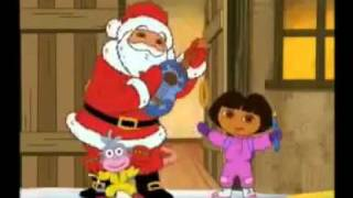 getlinkyoutube.com-Dora Et Papa Noel - Chante Joyeux Noel - HD.