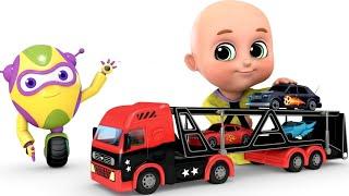 Kids Toys - Car Loader Truck | Surprise Eggs Toys from Jugnu kids