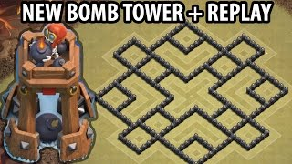 getlinkyoutube.com-Clash of Clans - Town hall 8 (Th8) War Base + BOMB TOWER - ANTi 2 Star + Defense Replay