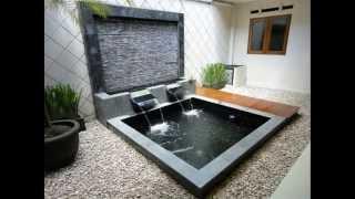 getlinkyoutube.com-Ide Desain Air Mancur / Kolam Taman Minimalis | Rumah Minimalis