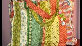 getlinkyoutube.com-Quilting y Patchwork - Bolso - Maquinas de coser Elna - Silvia Herman