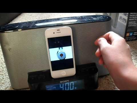 sony dream machine ipod dock manual