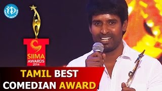 getlinkyoutube.com-SIIMA 2014 - Tamil Best Comedian Award | Soori | Varuthapadatha Valibar Sangam Movie