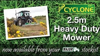 MAJOR 2.5m Cyclone Mower