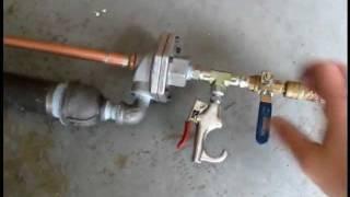 Air Gun -- Shoots batteries and .50 caliber BBs!