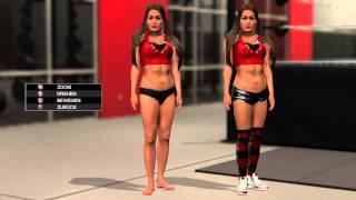getlinkyoutube.com-WWE 2K15 Nikki Bella stripped
