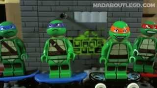 getlinkyoutube.com-LEGO Teenage Mutant Ninja Turtles Movie