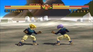 Dragon Ball GT: Final Bout [PS1] - Super Trunks
