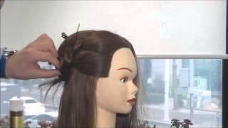 김환올림머리-하위양감패턴2(측면의 연출1)