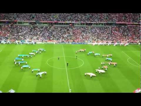 Opening Champions League Munich: Bayern Munich - Chelsea + tifo Bayern