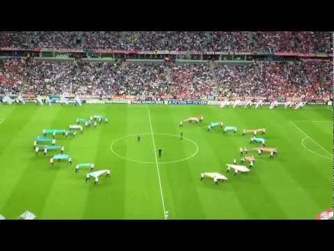 Opening Champions League Munich: Bayern Munich - Chelsea + tifo Bayern
