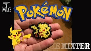 getlinkyoutube.com-Hacer Un Pikachu De Hama Beads | Como Hacer Un Llavero De Pikachu (Pokemon) | The Mixter Games