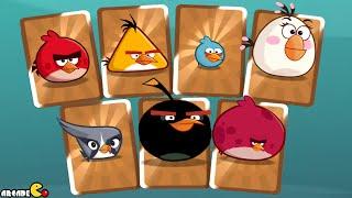 getlinkyoutube.com-Angry Birds Under Pigstruction - ALL BIRDS In Golden Card!