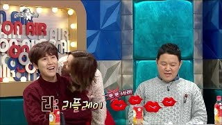 getlinkyoutube.com-【TVPP】Hyeri(Girl's Day) - Hyeri's New Aegyo, 혜리(걸스데이) - 혜리 NEW 애교에 바보 웃음 짓는 규현 @ Radio Star