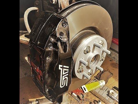 Задние тормоза BLUE PRINT на субару. Replacing the rear brake discs on Subaru