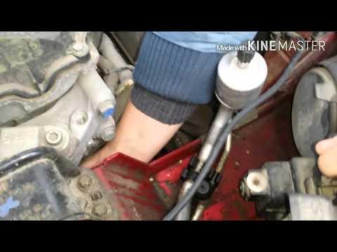 Замена ремня навесного оборудования на Peugeot 308