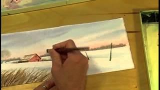 getlinkyoutube.com-Watercolor Workshop Eps 3 Winter Farm
