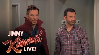 getlinkyoutube.com-Jimmy Kimmel Hires Dr Strange