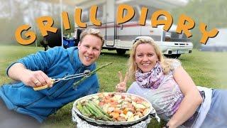 getlinkyoutube.com-FOOD DIARY | Vegan Grillen beim Campen