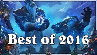 getlinkyoutube.com-Funny And Lucky Moments - Hearthstone - Best Of 2016