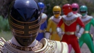 getlinkyoutube.com-Gold Ranger's First Scene and Fight (Power Rangers Zeo)