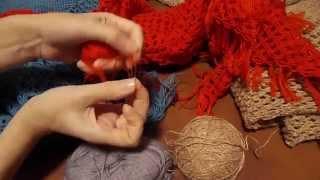 getlinkyoutube.com-Вязание крючком и спицами. Вяжем шали.