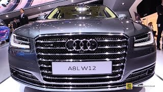 getlinkyoutube.com-2016 Audi A8 W12 - Exterior and Interior Walkaround - 2015 Frankfurt Motor Show
