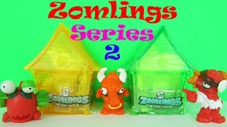 getlinkyoutube.com-Zomlings Series 2 Crystal Houses Pack Opening & Kids Toy Review, Magic Box Int