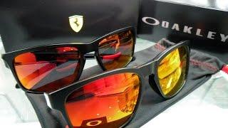 Oakley Ferrari Collection CATALYST vs SLIVER sunglasses