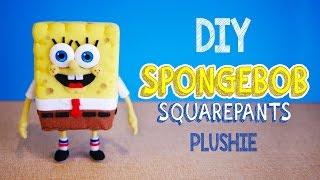 getlinkyoutube.com-How to make SpongeBob Squarepants Plushie! DIY