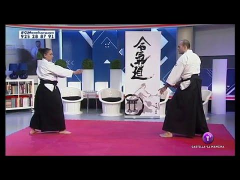 Exhibición de Aikido en CLM en el corazón