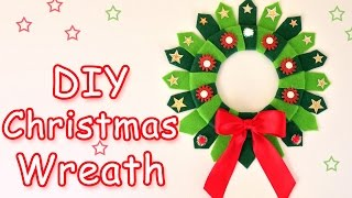 getlinkyoutube.com-DIY Christmas Wreath - Christmas  crafts ideas - Ana | DIY Crafts