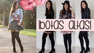 getlinkyoutube.com-5 tips para llevar botas sobre la rodilla ♥