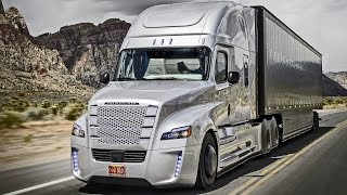 getlinkyoutube.com-► Freightliner Inspiration Truck - First autonomous driving on public roads