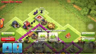 getlinkyoutube.com-TH7 Anti 2 Star War and Trophy Base!