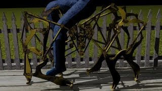 getlinkyoutube.com-walking cycle theo jansen mechanism