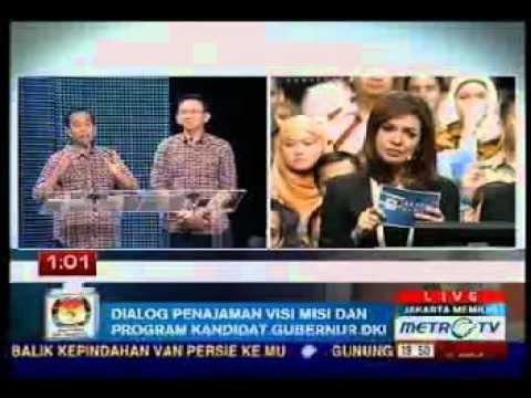 """Jokowi Ahok : Debat Cagub DKI Jakarta 2012 - Jakarta Memilih """"THE FINAL ROUND"""""""