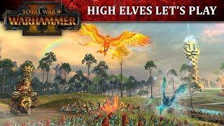 Total War: WARHAMMER II - High Elves Játékmenet