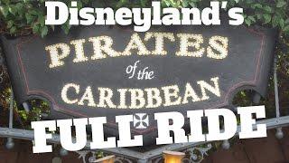 getlinkyoutube.com-Pirates of the Caribbean 2016   Disneyland FULL RIDE   Simple Steele