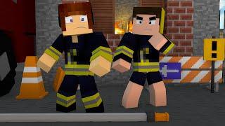 getlinkyoutube.com-Minecraft : VIRAMOS BOMBEIROS !! - Aventuras Com Mods #35
