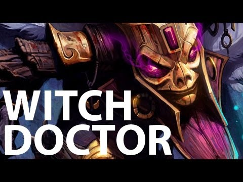 Diablo 3 - Witch Doctor skills PREVIEW [ nonofficial video ]