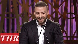 Justin Timberlake Full Speech at The Hollywood Reporter's Women in Entertainment 2017