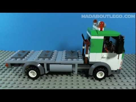 LEGO RECYCLING TRUCK 4206