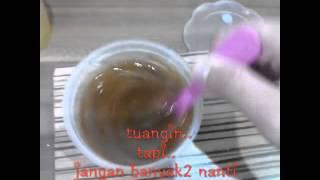 getlinkyoutube.com-Cara membuat slime cair jadi slime padat/lunak