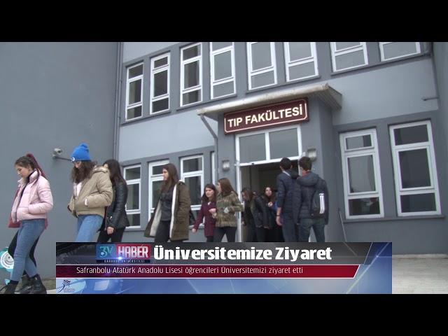 Üniversitemize Ziyaret