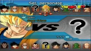 getlinkyoutube.com-Dragon Ball Z Budokai Tenkaichi All Characters | HDTV 720P