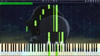 getlinkyoutube.com-[Synthesia] Mirai Nikki BGM - Here with you ~ OST Track 5 / Emotional Piano OST [Mirai Nikki]